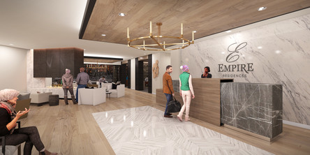 Empire Residences Lobby Reception 02 V6.