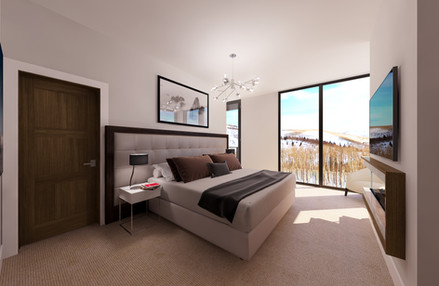 Empire Residences Unit Master Bedroom 01