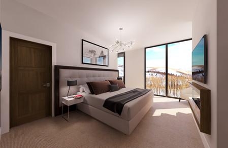 Empire Residences Unit Master Bedroom 01