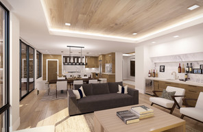 Empire Residences Unit Living Room 02 V8