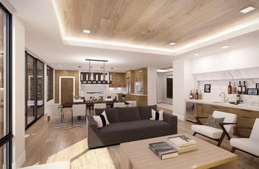 Empire Residences Unit Living Room 02 V8
