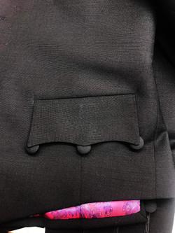 Sleeve Waistcoat Pocket Detail