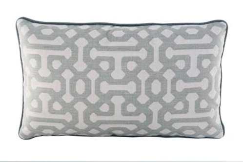 Fretwork Mist Pillow