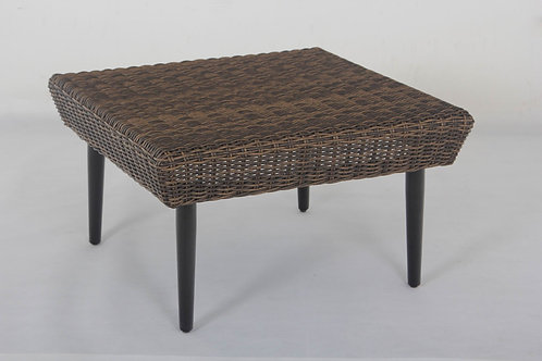 Tacoma Woven Top Aluminum Coffee Table