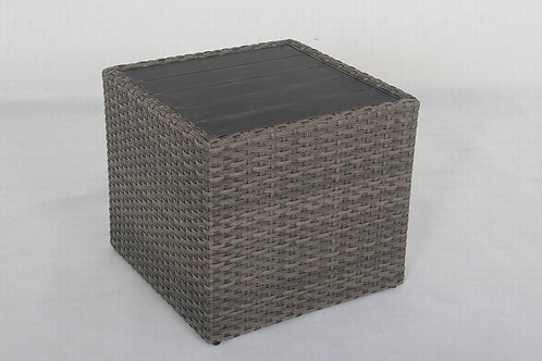 Westbrook Aluminum Cube Shaped Table