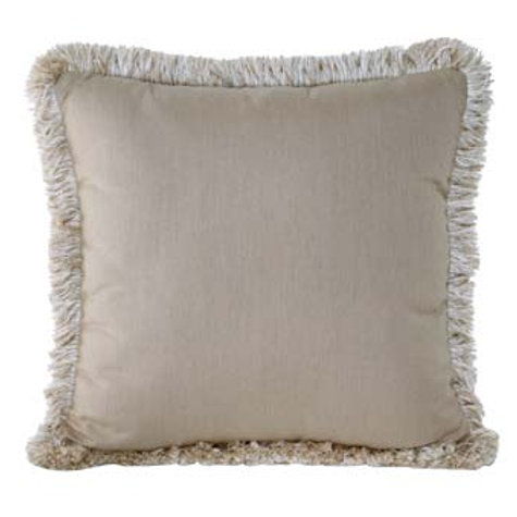 Spectrum Sand w/ Fringe Pillow