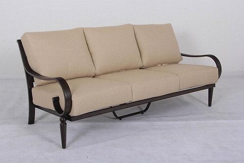 Columbia Aluminum 3-Seater Sofa
