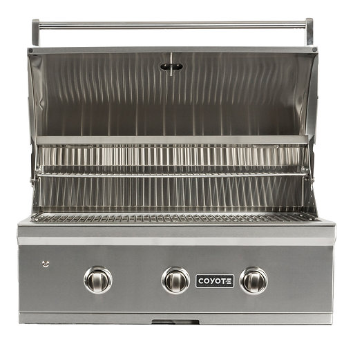 """Coyote C-Series 34"""" Grill Built-in"""