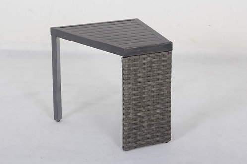 Westbrook Aluminum Wedge Shaped Table