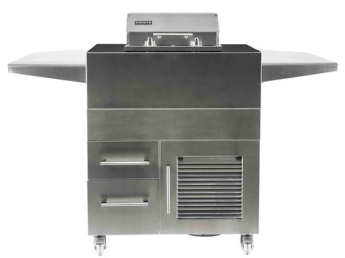 Coyote Electric Grill Island