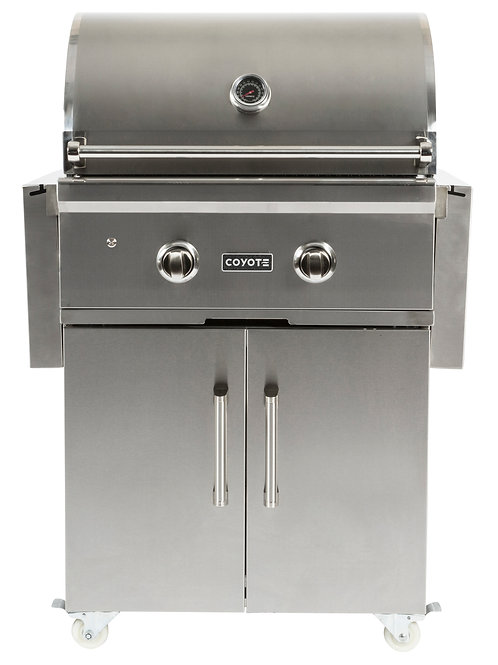 """Coyote C-Series 28"""" Grill on Cart"""