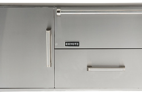 Coyote Drawers: Warming Drawer + Access Door