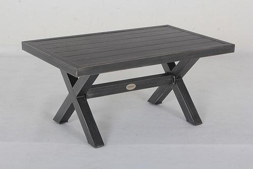 Westbrook Aluminum Slatted Top Coffee Table