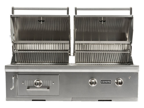 Coyote C-Series Hybrid Grill Built-in