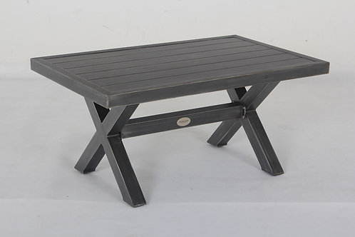 Westbrook Aluminum Slatted Table