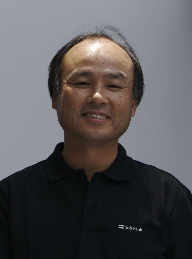 Masayoshi Son fondatore di SoftBank