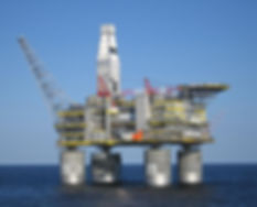 Sakhalin Offshore Platforms, Russia, are seismically isolate using four large isolators manufactured by Earthquake Protection Systems