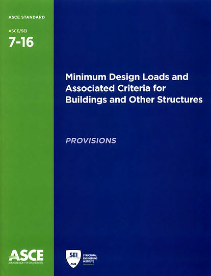 Cover of ASCE 7-16