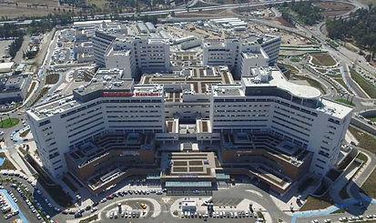 Adana Integrated Healthcare Campus, Turkey seismically isolated with 1,512 isolators from Earthquake Protection Systems