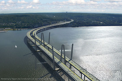 Tappan Zee Bridge, NY, uses 584 Tripe Pendulum™ isolators manufactured by Earthquake Protection Systems