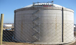 LNG Tank ,Chile, survived an 8.8 earthquake, isolated by 260 Triple Pendulum™ isolators, manufactured by Earthquake Protection Systems