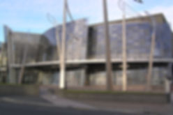 Christchurch Art Gallery, New Zealand, seismically isolated with isolators manufactured by EPS
