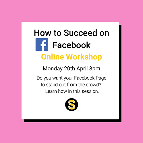 How to Succeed on Facebook Workshop Recording