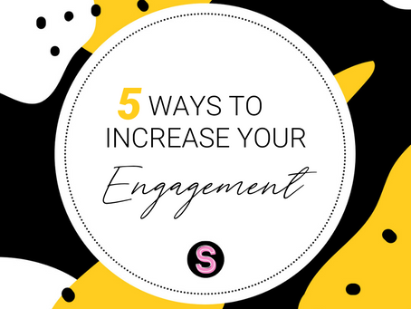 Five Ways to Increase your Social Media Engagement