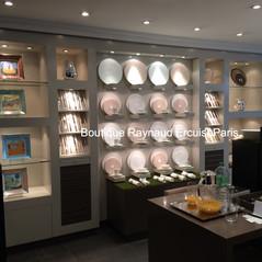 Boutique Raynaud Ercuis Paris Présentation de la Collection de vide-poche Légendes persanes