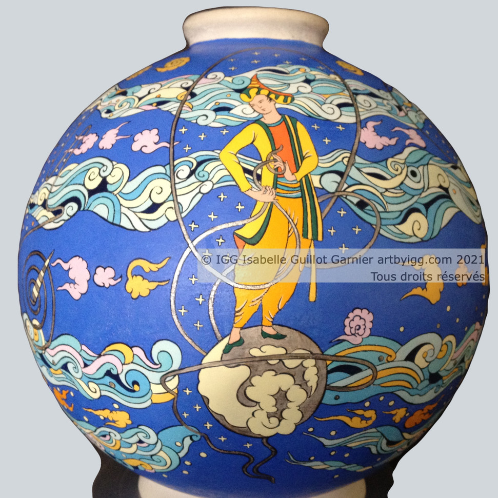 © IGG Maquette vase Collection l'Homme Lune 2021