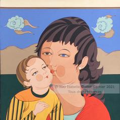© IGG Miniature Le Baiser, Maternité 2021