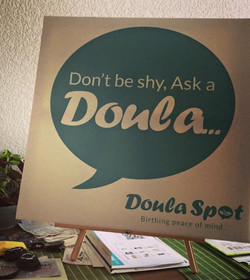 Ask A Doula Sign