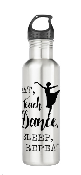 Teach Dance Water Bottle