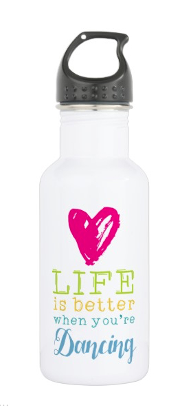 Dance Life Water Bottle