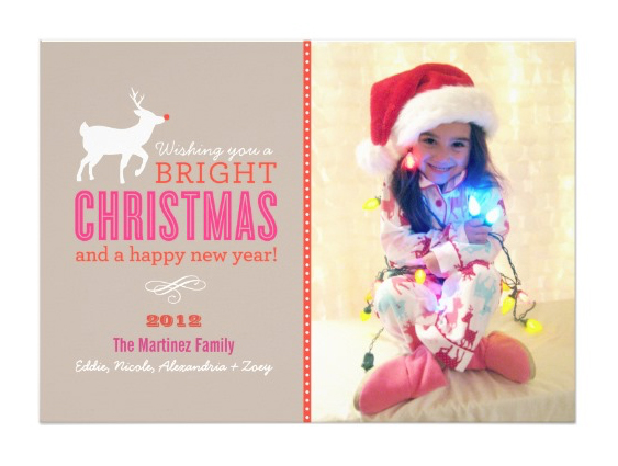 Lights Christmas Card