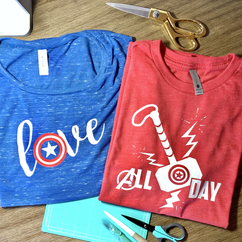 Love Captain America Tanks