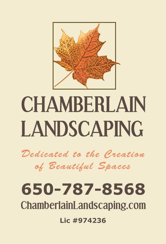 Chamberlain Landscaping Ad