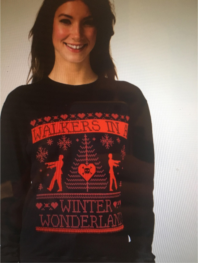 Walkers Christmas Sweater