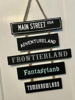 Theme Park Signs