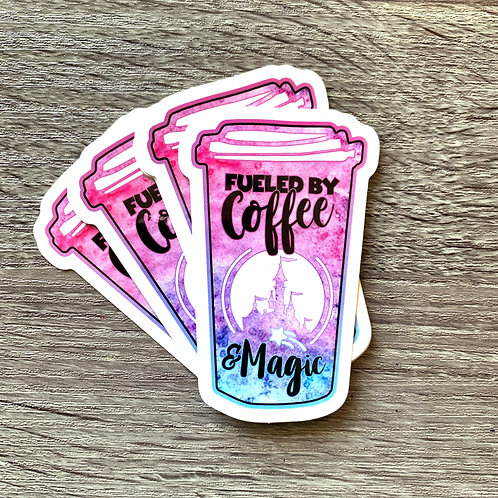 Coffee & Magic Sticker