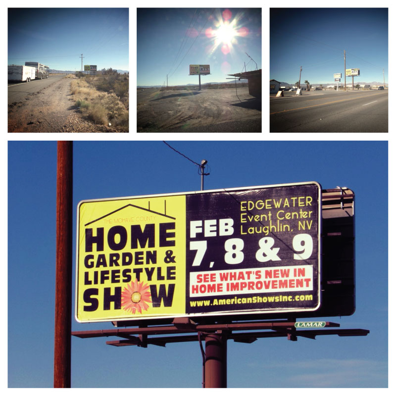 Home & Garden Show Billboard