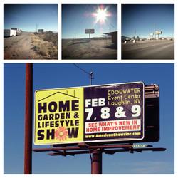 Home & Garden Show Billboard