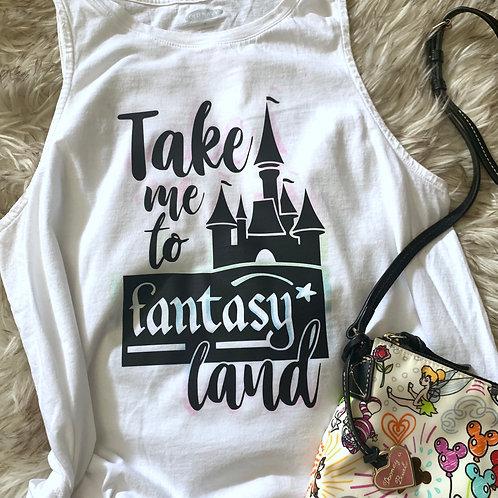 Fantasyland Decal