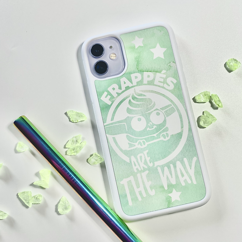 Frappes Are The Way - iPhone 11 Case (White)