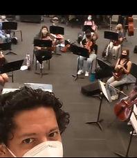 Mr Pena selfie Rehearsal Aug 31 2020_edi