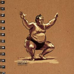 Sumo Digital Painting by heidiGFX