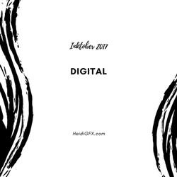 Inktober 2017 Digital Art