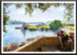 aswan digital painting
