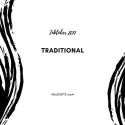 Inktober 2017 Traditional Art