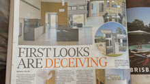 "Studio 15b ""Residence 70s"" published in The Courier Mail"